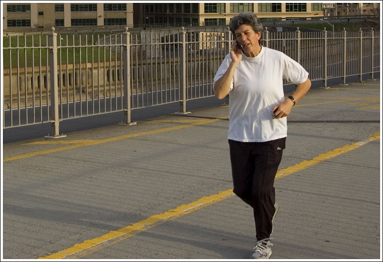 The Cell Phone Jog