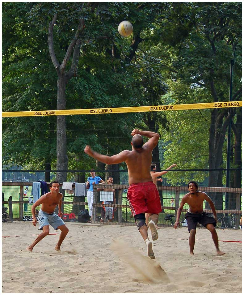 Central Park Volleyball